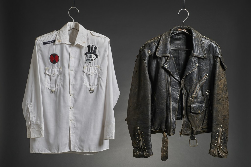 Mick Jones shirt & Paul Simonon's leather jacket